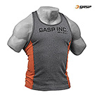 GASP 2-Color Rib Tank Antracite/Flame