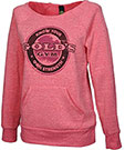 GOLD'S GYM LADIES CUTOFF ECO SWEATER PINK
