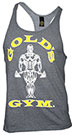GOLD'S GYM CLASSIC STRINGER TANK TOP GREY