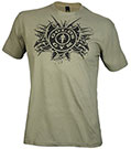 GOLD'S GYM EXPLOSION TEE OLIVE