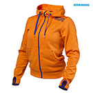BetterBodies Women's Athletic Hood - Bright Orange