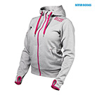 BetterBodies Women's Athletic Hood - Grey Melange