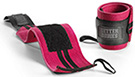 BetterBodies Womens Wrist Wraps - Hot Pink