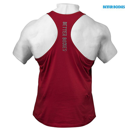 BetterBodies Front Printed T-Back - Jester Red Detail 2