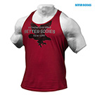 BetterBodies Front Printed T-Back - Jester Red