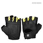 BetterBodies Womens Training Gloves - Black/Lime