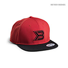 BetterBodies Flat Bill Cap - Red/Black