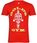 GOLD'S GYM Muscle Joe T-Shirt Red