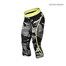 BetterBodies Camo Capri Tights - Grey Camo