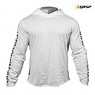 GASP No Compromise Hood - White