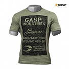 GASP Broad Street Print Tee - Washed Green