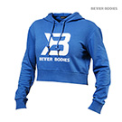 BetterBodies Cropped Hoodie - Bright Blue