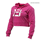 BetterBodies Cropped Hoodie - Hot Pink