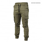 BetterBodies Alpha Street Pant - Washed Green