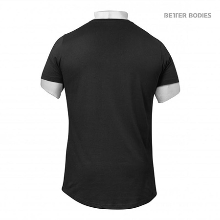 BetterBodies Alpha Zip Tee - Black Detail 2