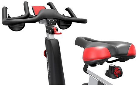 Life Fitness Indoor Bike IC4 Powered By ICG Detail 3