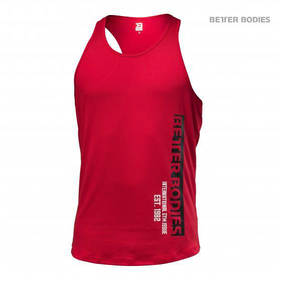 BetterBodies Performance T-Back - Bright Red Detail 1