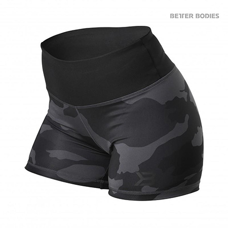 BetterBodies Chelsea Hotpants - Dark Camo Detail 1