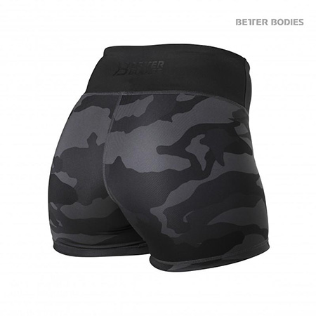 BetterBodies Chelsea Hotpants - Dark Camo Detail 2