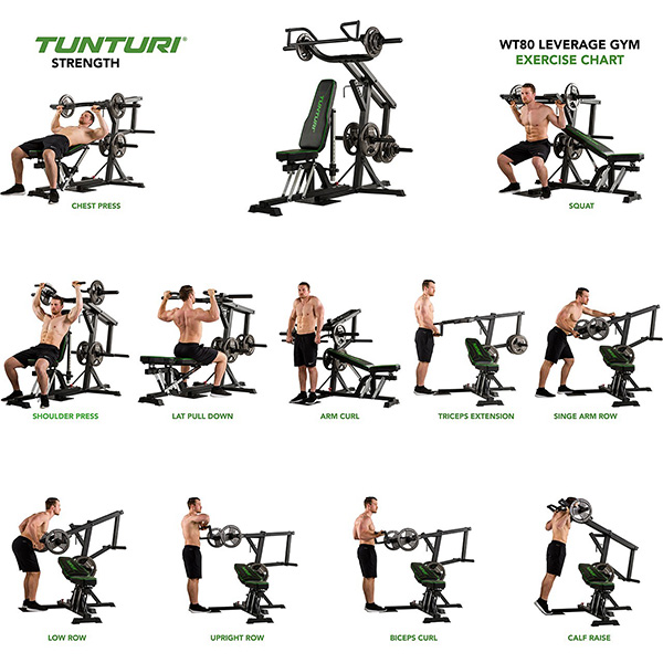 Tunturi Leverage Gym WT80 Detail 7