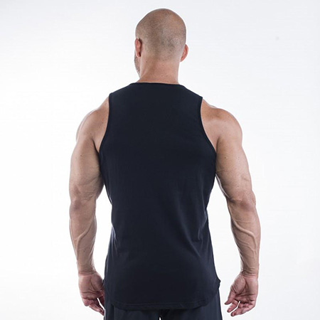 Better Bodies Brooklyn Tank - Black Detail 2