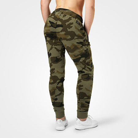 BetterBodies Jogger Sweatpant - Green Camo Detail 2