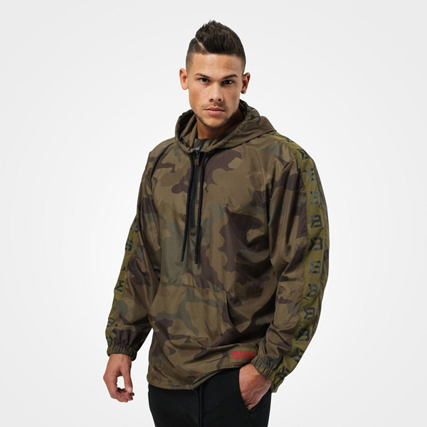 BetterBodies Harlem Jacket - Military Camo Detail 1