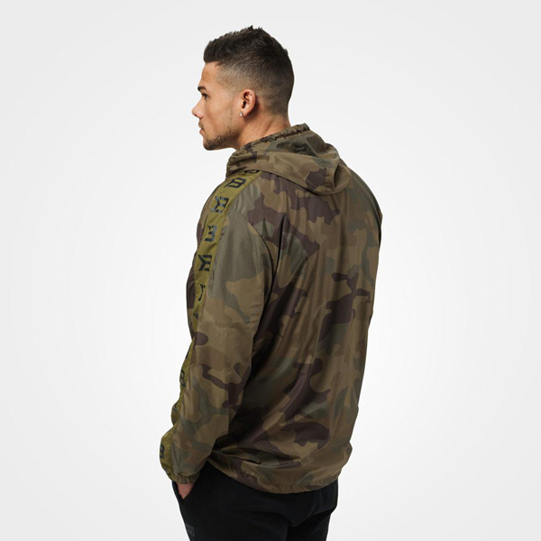 BetterBodies Harlem Jacket - Military Camo Detail 2