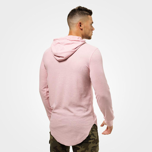 Better Bodies Stanton Thermal Hood - Light Pink Detail 2